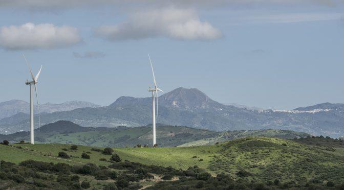 El parque eólico El Tesorillo cumple seis meses