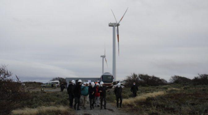 Presidente Piñera visita el parque eólico de Punta Arenas