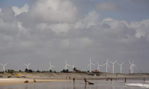 Voltalia inicia central de energía eólica en Brasil