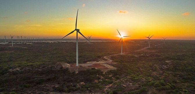 La temporada de fuertes vientos genera picos récord de generación eólica en la región noreste de Brasil