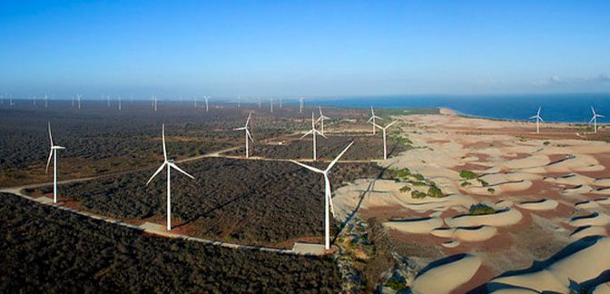Energía eólica del Nordeste contará con financiamiento del BNDES