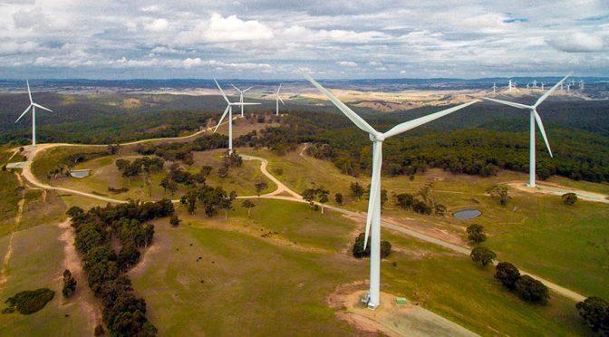 El fabricante chino de aerogeneradores Goldwind avanza en la energía eólica de Brasil