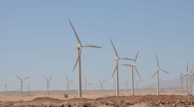 Energía eólica en Egipto, aerogeneradores de Vestas para parque eólico EPC de 252 MW