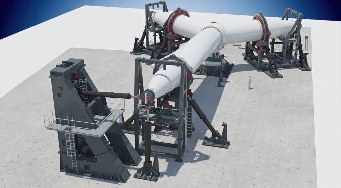GE Renewable Energy construye la plataforma de prueba de rotor de turbina eólica más grande en los Países Bajos