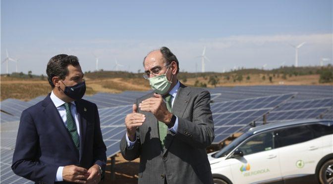 Iberdrola triplica su apuesta renovable en Andalucía que alcanzará los 3.000 MW en los próximos cinco años