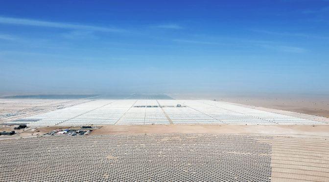 Abengoa avanza en la termosolar más grande del mundo en Dubai