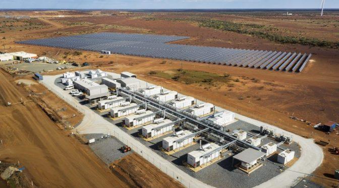 Saft ayuda a la mina de oro Agnew de Gold Fields a cambiar a energía eólica