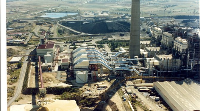 Endesa comienza los trabajos de desmantelamiento de la central térmica de Andorra