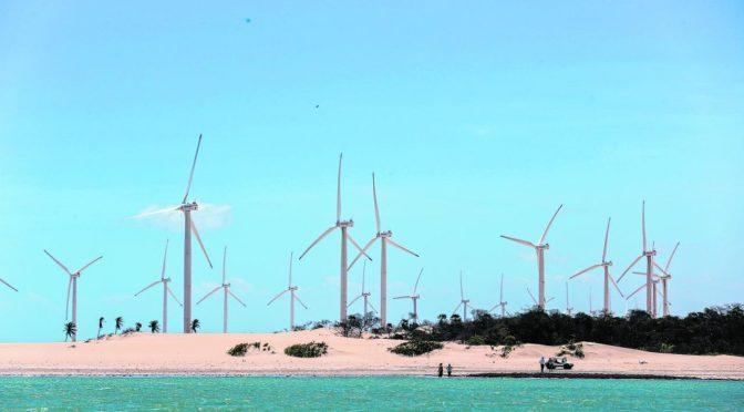 Ceará cuenta actualmente con 86 parques eólicos y 2.187,9 MW de energía eólica