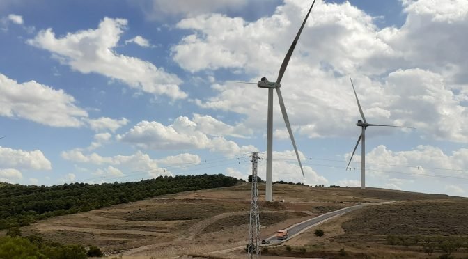 Eólica en Aragón, nuevo parque eólico de Endesa