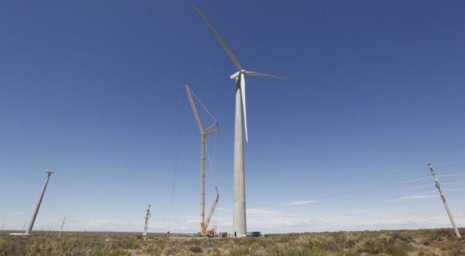 Energía eólica en Argentina, primer parque eólico en Neuquén