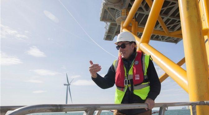 Iberdrola, precalificada para la próxima subasta de energía eólica marina en Francia