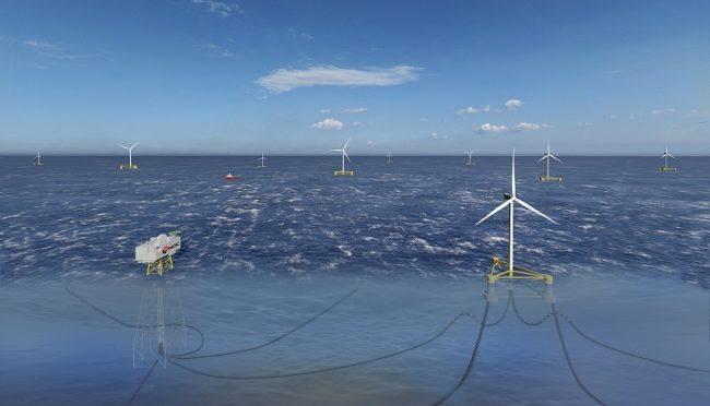 Empresas de Corea del Sur recurren a la energía eólica marina