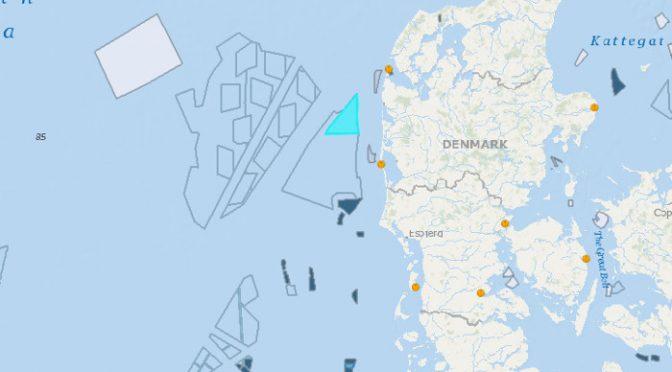 Energía eólica en Dinamarca, licitación del parque eólico marino Thor