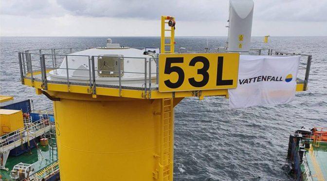 Kriegers Flak será la central de energía eólica marina más grande de Dinamarca