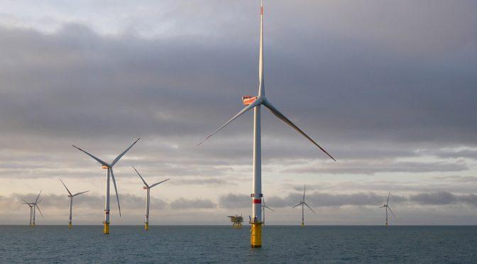 Energía eólica marina: construyendo el futuro