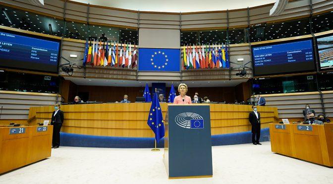 La Comisión Europea propone elevar el objetivo climático para 2030 al menos al 55 por ciento