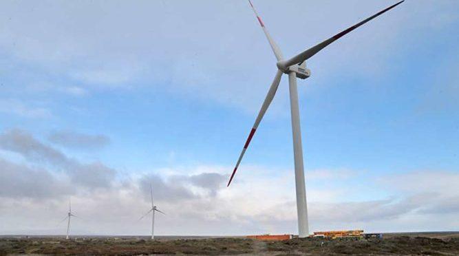Eólica en Chile, Parque eólico Vientos Patagónicos inició operación