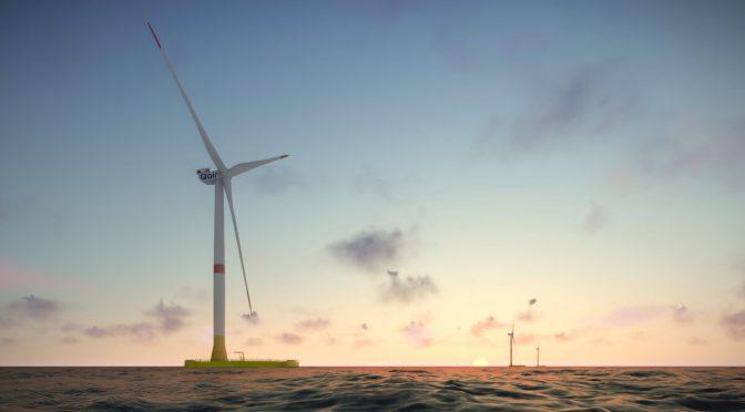 MHI Vestas y EolMed se asocian para central de energía eólica flotante en Francia