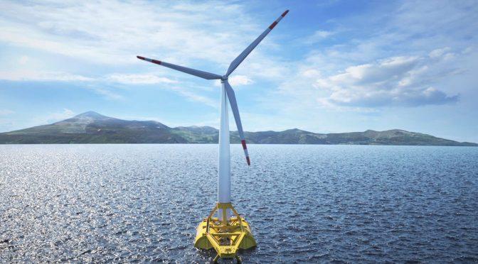 El proyecto piloto de energía eólica marina flotante está ganando velocidad