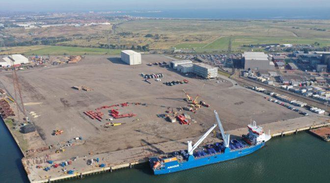 Comienza la instalación de aerogeneradores de eólica marina Triton Knoll
