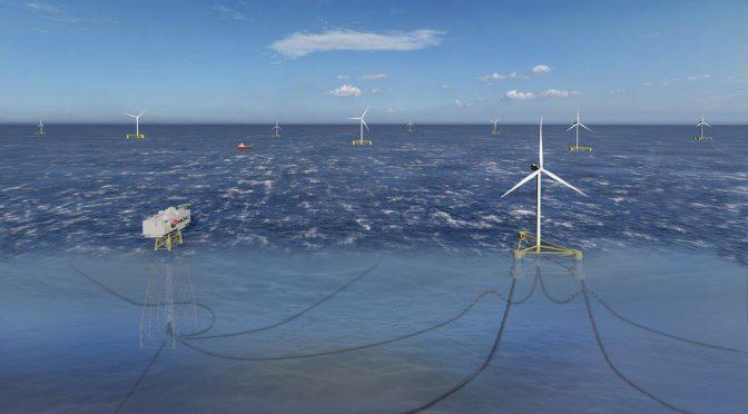 Ferrovial construirá e instalará una plataforma de energía eólica marina flotante en el País Vasco
