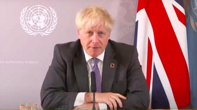 Boris Johnson presentará un plan para alimentar todos los hogares del Reino Unido con energía eólica para 2030