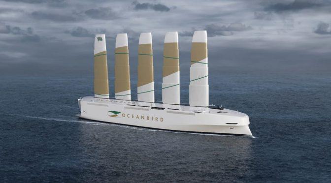 Nuevo carguero sueco será la mayor embarcación eólica del mundo