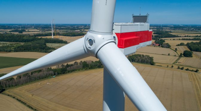 La turbina eólica terrestre más potente de GE se vuelve aún más potente