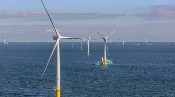 Vestas preseleccionado para el proyecto de energía eólica He Dreiht de 900 MW en Alemania, que