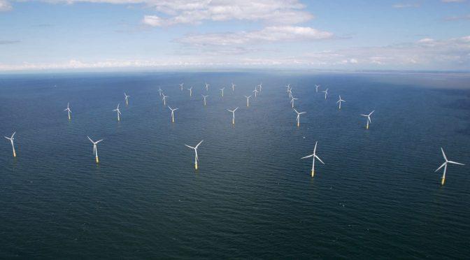 RWE y DEME Offshore instalan cimientos de energía eólica marina