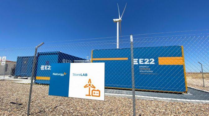 Naturgy instala un sistema de almacenamiento con baterías en los parques eólicos de la Vega I y II (Zamora)
