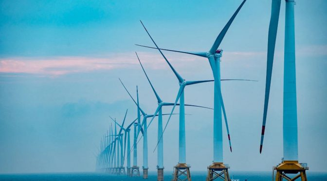 CGN inicia eólica marina de 401 MW con aerogeneradores híbridos