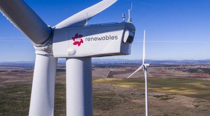 EDP Renováveis instala los mayores aerogeneradores de España en Burgos