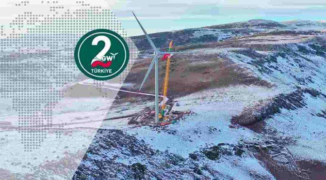 Enercon instala aerogeneradores E-138 EP3 para el parque eólico Metafor en Turquía