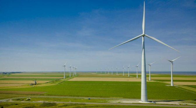 La industria eólica superó un año difícil