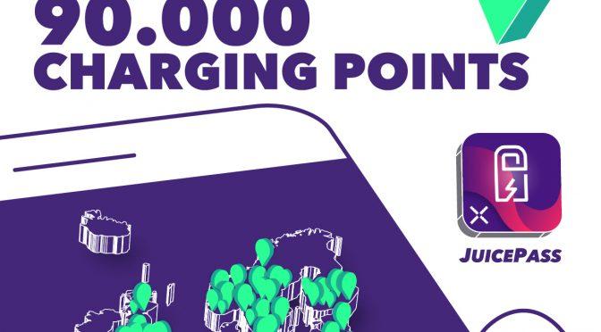Enel X alcanza 90.000 puntos de recarga disponibles en la aplicación JuicePass