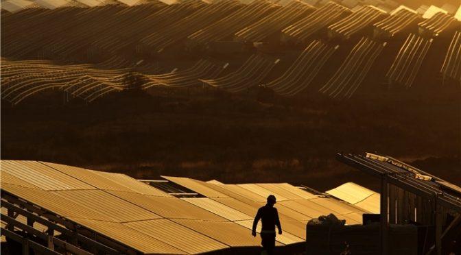 Récord histórico de producción solar fotovoltaica en España