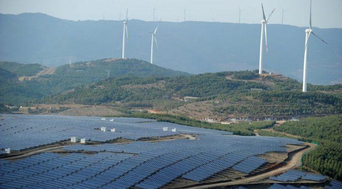 La energía eólica de China se dispara en el primer trimestre
