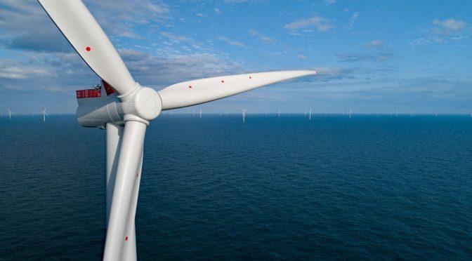Energía eólica marina para producir hidrógeno