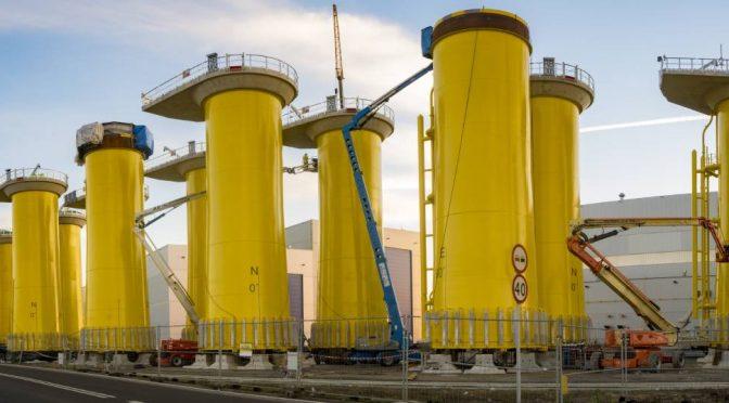 Desarrollo de la energía eólica marina en el Mar Báltico