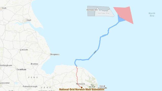 Reino Unido da luz verde a central eólica marina Hornsea-III de 2,4 GW