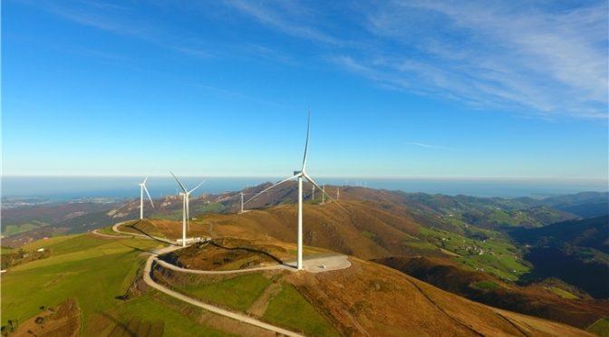Iberdrola pone en marcha sus parques de energía eólica en Asturias