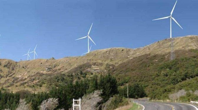Nuevo eólica de Meridian Energy en Nueva Zelanda
