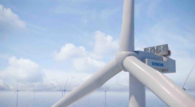Vestas lanza la turbina eólica marina de 15 MW, la más grande del mundo
