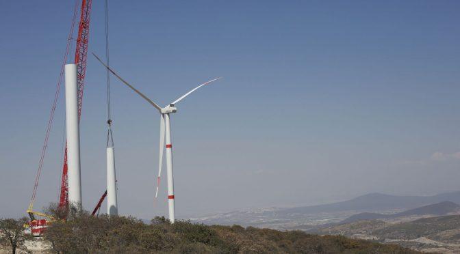 Eólica en México, parque eólico de Querétaro