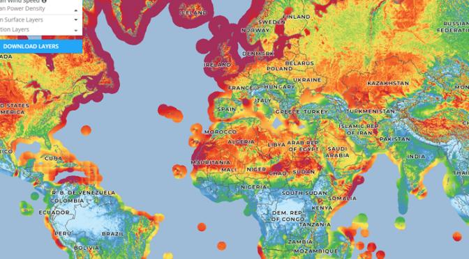 Global Wind Atlas registra los vientos para la correcta elección de los aerogeneradores