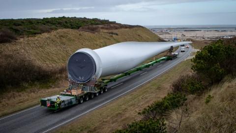 140 aerogeneradores con un rotor de 200 metros para la central eólica Hollandse Kust Zuid