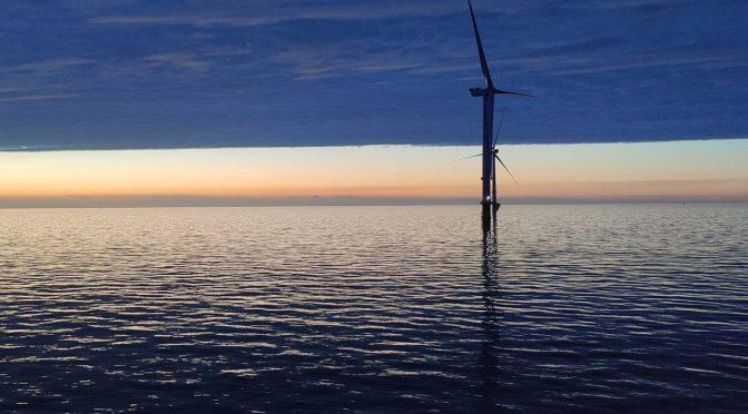 Central de eólica marina Triton Knoll genera la primera energía