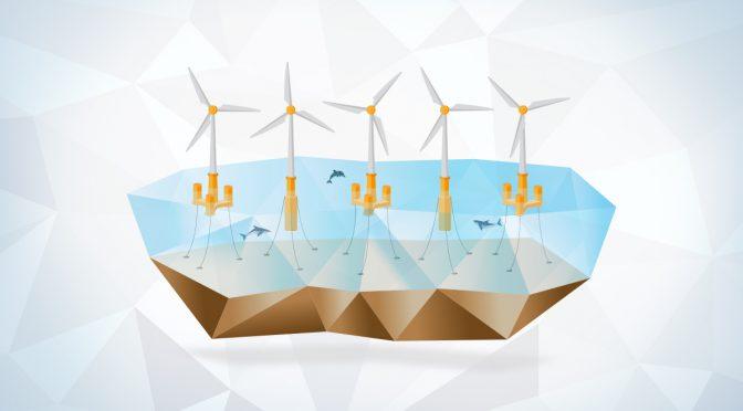 Las innovaciones en la eólica flotante reducen  los costes